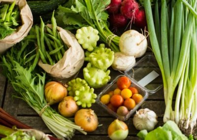 From farm gate to plate