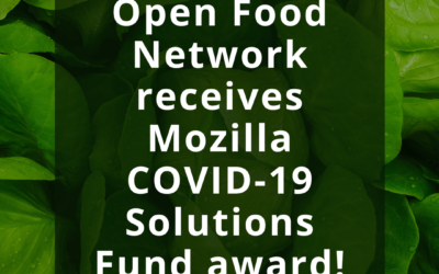 Open Food Network receives Mozilla COVID-19 Solutions Fund award